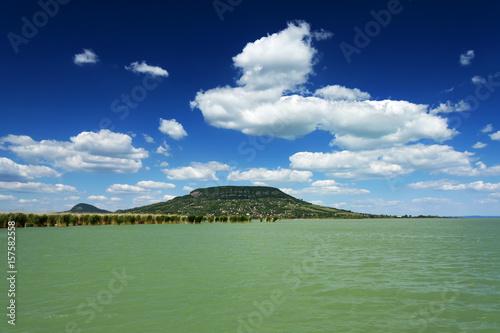 Landscape of Lake Balaton from Szigliget, Hungary Poster
