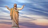 Jesus Christ in Heaven religion concept - 157614342
