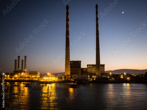 Poster Poolbeg power station