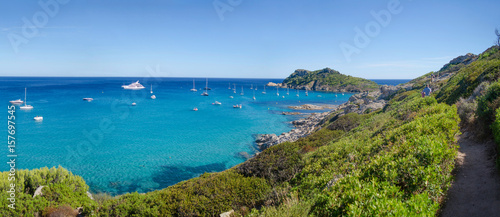 Cap taillat beaches, near to Saint-tropez, french riviera - 157697545