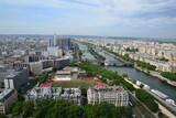 Paris - panorama from Tour Eiffel