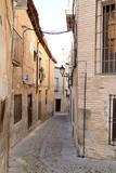 The narrow streets of Toledo