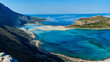 panoramic view on Balos beach, Crete, Greece