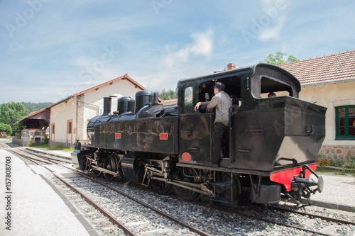 La locomotive manœuvre