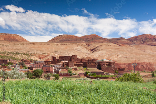 Ounilla Valley, Morocco, High Atlas Landscape Poster