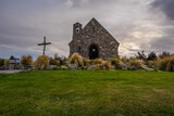 Church of the Good Shepherd, New Zealand The Church of the Good Shepherd is situated on the shores of Lake Tekapo.