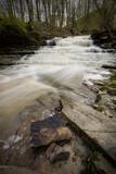 Swazye Falls in Ridgeville, Ontario in spring.