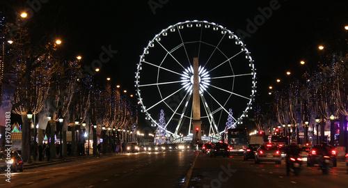 Keuken foto achterwand Amusementspark Noria Paris