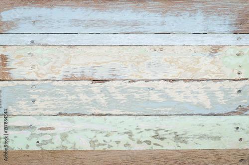 Blue Vintage Wooden Texture Background