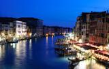 Venezia beautiful view at night, Venice, Italy