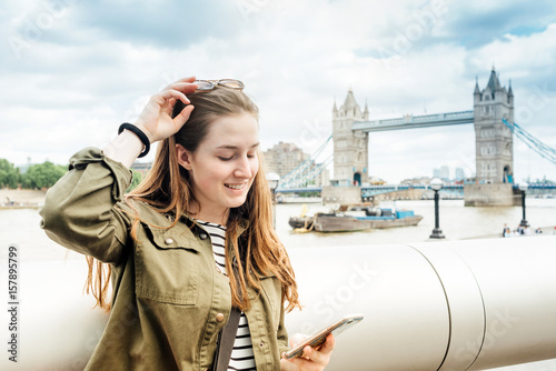Teen ager tourist