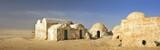 old arabian city in desert Sahara in Tunisia - 157921710