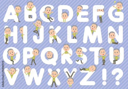 Green vest grandfather A to Z