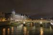 Conciergerie at river Seine Paris France