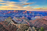 Grant canyon sunset