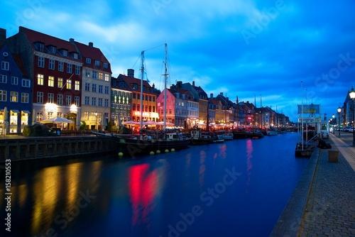 Poster Nyhavn, Kopenhagen, Dänemark