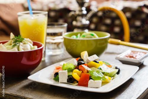 dinner in the restaurant - 158243743
