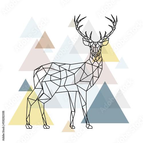 jelen-z-figur-geometrycznych-ilustracja-renifera-z-boku-skandynawski-styl