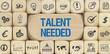 Talent Needed / Würfel mit Symbole