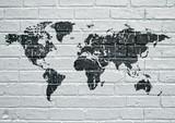 Graffiti, carte du monde - 158287158