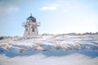 Covehead Lighthouse in Winter