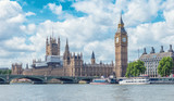 Fototapeta Big Ben - Big Ben and Houses of Parliament, London, UK © rcfotostock