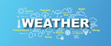 weather vector banner