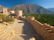 Quadro Fort Nakhal, the ancient fortress of Oman