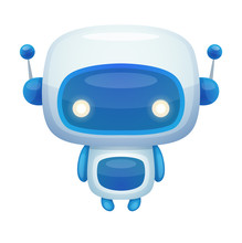 Cartoon Robot Sticker