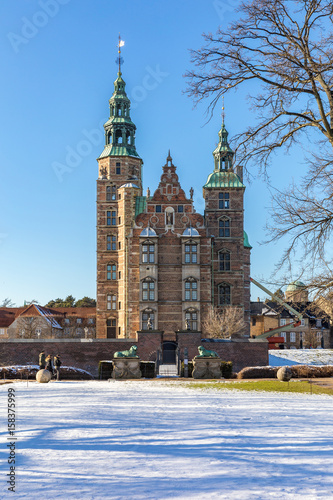 Poster Rosenborg Castle Copenhagen Denmark