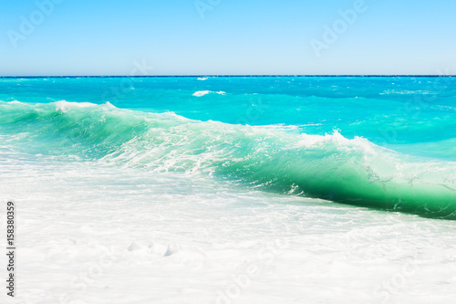 Foto op Aluminium Nice Beautiful sea with turquoise water.