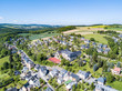 small town in germany at a sunny day - 158399189