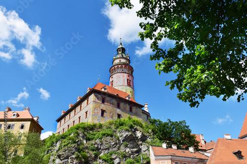 Cesky Krumlov (Krumau), Tschechische Republik. Schloss.