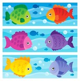 Stylized fishes topic image 1