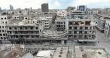 ville détruite homs syrie  - 158453757