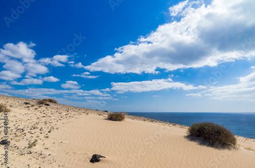 große helle, Sanddüne von Jandia auf Fuerteventura