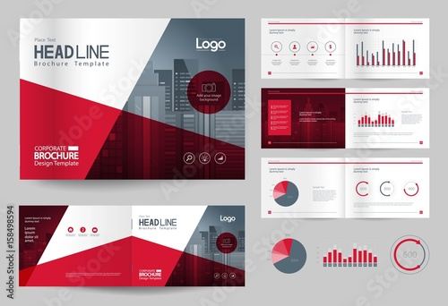 Business brochure design template and page layout for company business brochure design template and page layout for company profile annual reportwith page friedricerecipe Gallery