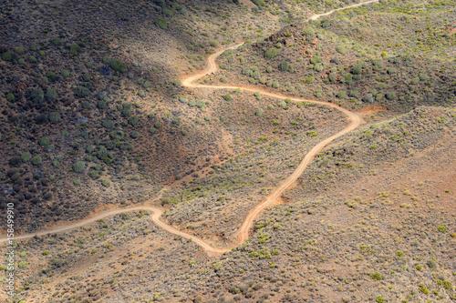 Poster Canarische Eilanden Dirt Path Gran Canaria