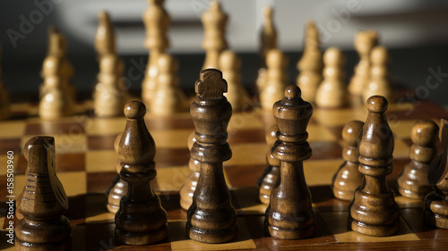 Chess Board and Figures © matthias