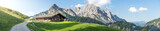 Panoramic view in the Austrian mountains - 158508526