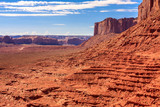 Monument Valley Canyon Red Mesa