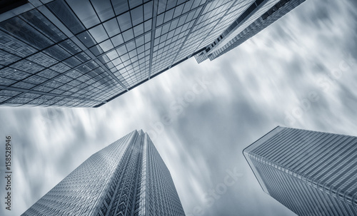 Canary Wharf financial district in London
