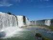 Big waterfall, rainbown