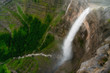 Nervion river source and waterfall