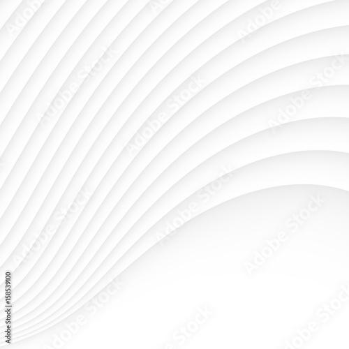 White texture. abstract pattern seamless. wave wavy nature geometric modern. - 158539100