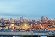 Brooklyn, New York City at Twilight