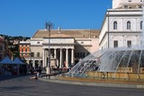 la piazza de ferrari à  gènes en italie