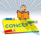 Design Concept Displays Ideas Theory 3d Illustration