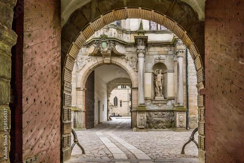 Poster Gateway into Kronborg castle
