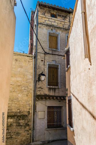 Saint-Gilles du Gard, France, centre ancien.